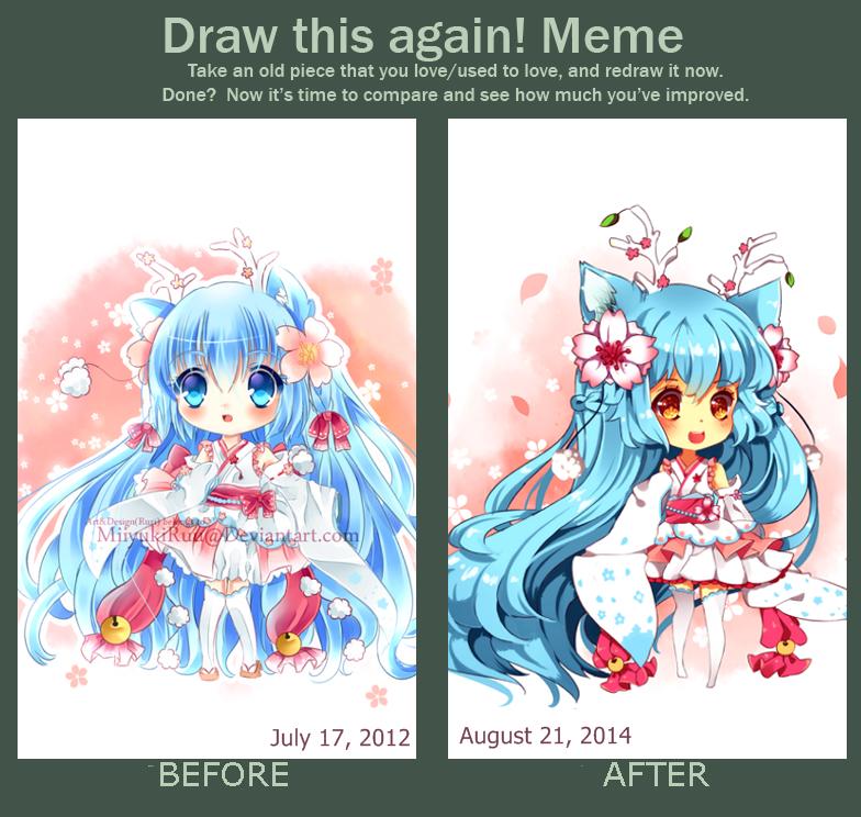 Draw this again 2012~2014 by Maruuki