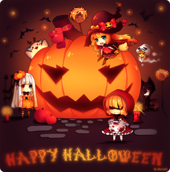 Happy Halloween by Maruuki