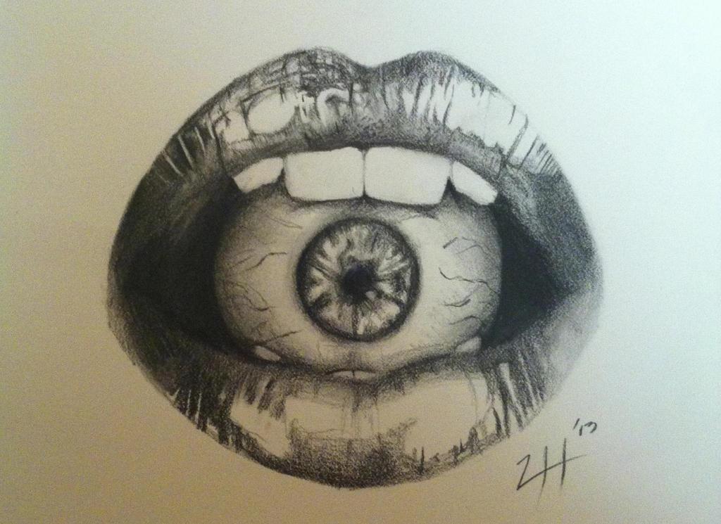 All Seeing Eye Drawing