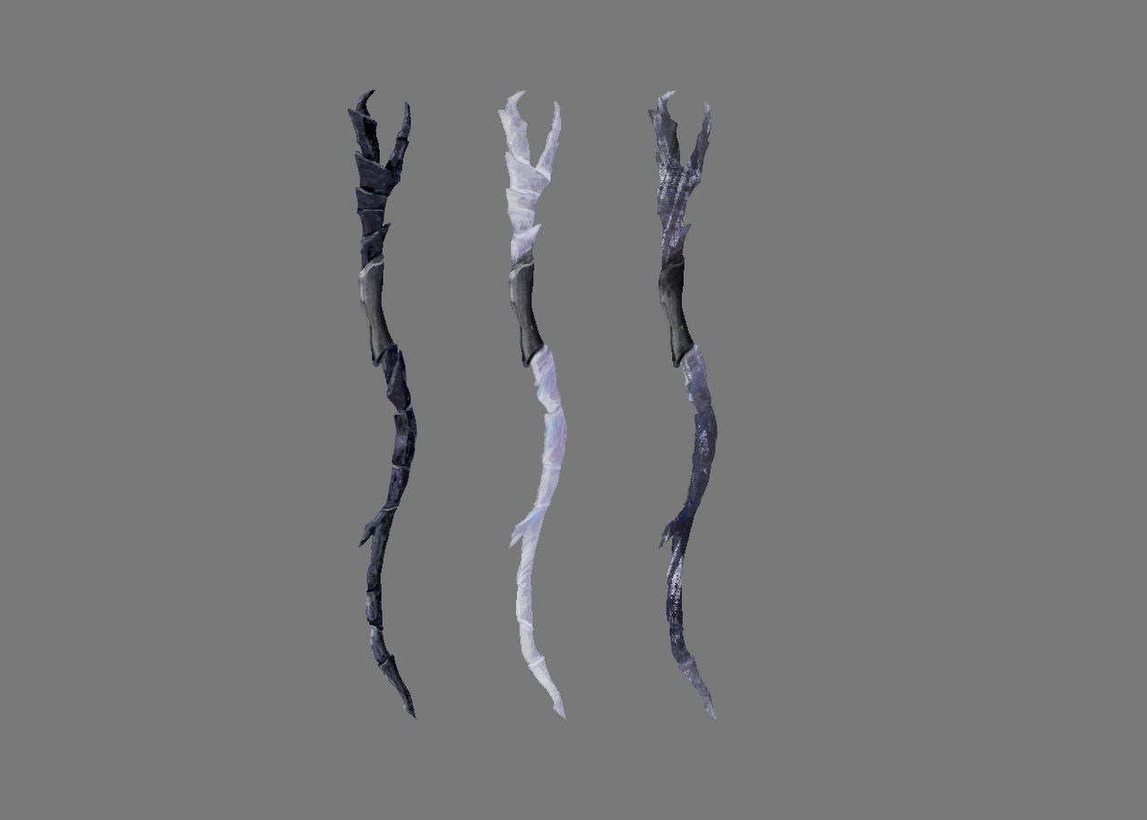 Troll Hunters Claire/'s Shadow Staff for Cosplay and Display