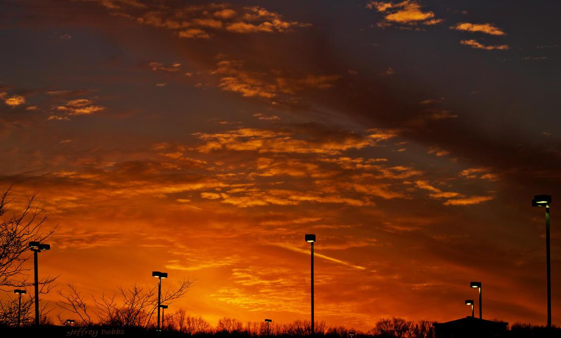 Sunset unboulevard. by JeffreyDobbs