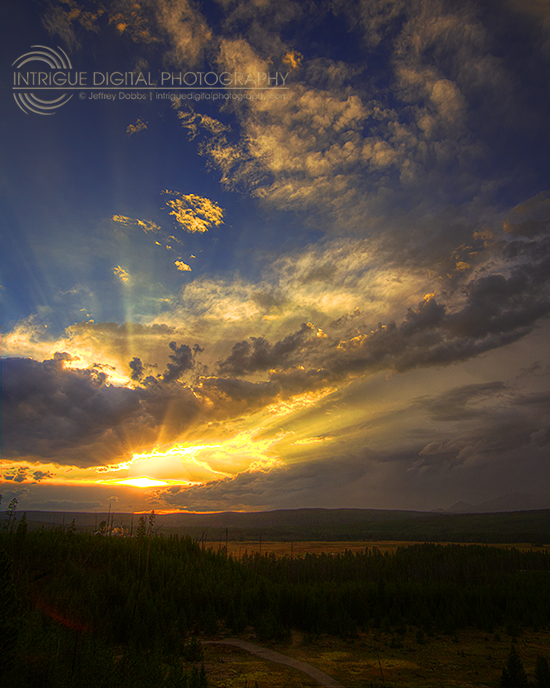 Yellowstone Skies by JeffreyDobbs