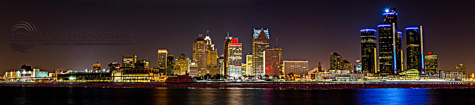 Detroit Lights by JeffreyDobbs
