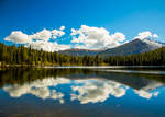 Out of the Clear Blue Sky - Bear Lake - RMNP