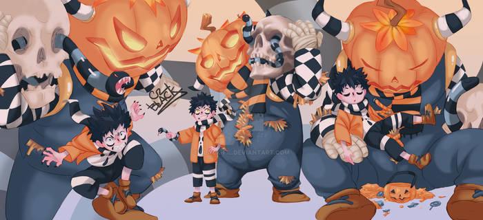 BLACK/Adopt Halloween demon/Auction/ CLOSED