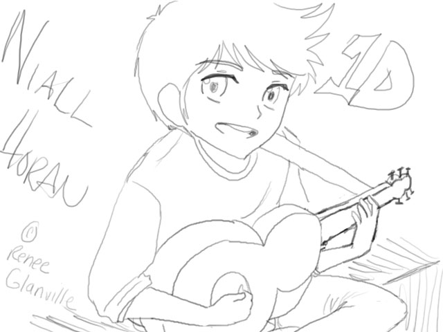 chibi one direction coloring pages niall horan coloring pages