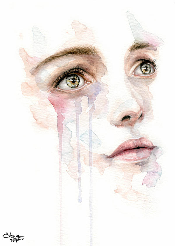 Workshop with agnes cecile 3 by tsuyachan on deviantart for Basic portrait painting