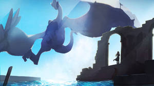 The remains of Lugia
