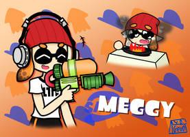 [YouTuber Fan Art] Meggy from SMG4 by RapBattleEditor0510