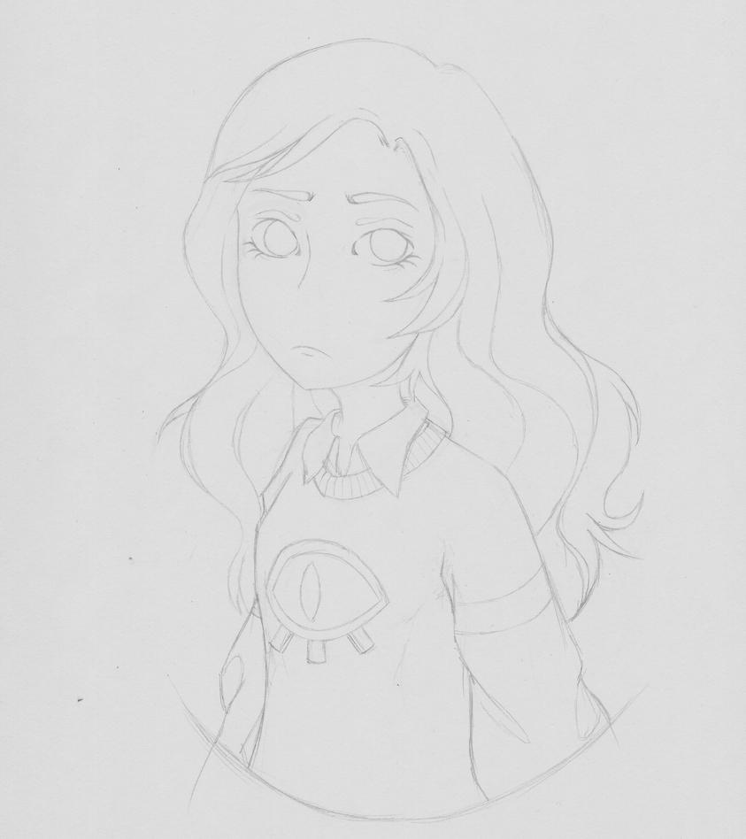 here is a crappy sketch. yup. by thecreepyrose