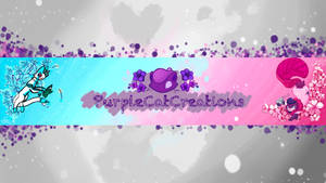 PurpleCatCreations banner