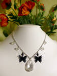 Transluscent Butterfly Necklace