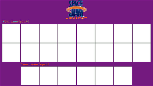 Space Jam Make Your Own Legacy
