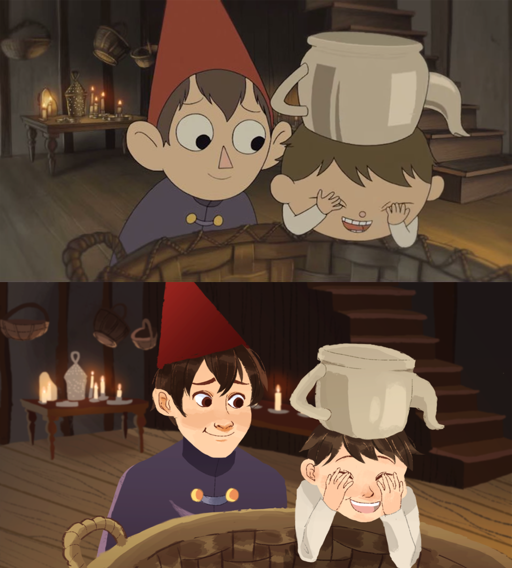 Over The Garden Wall Screencap Redraw By Lindzeelou On Deviantart
