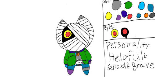 Bezo(new look, last time i redesign him i swear.