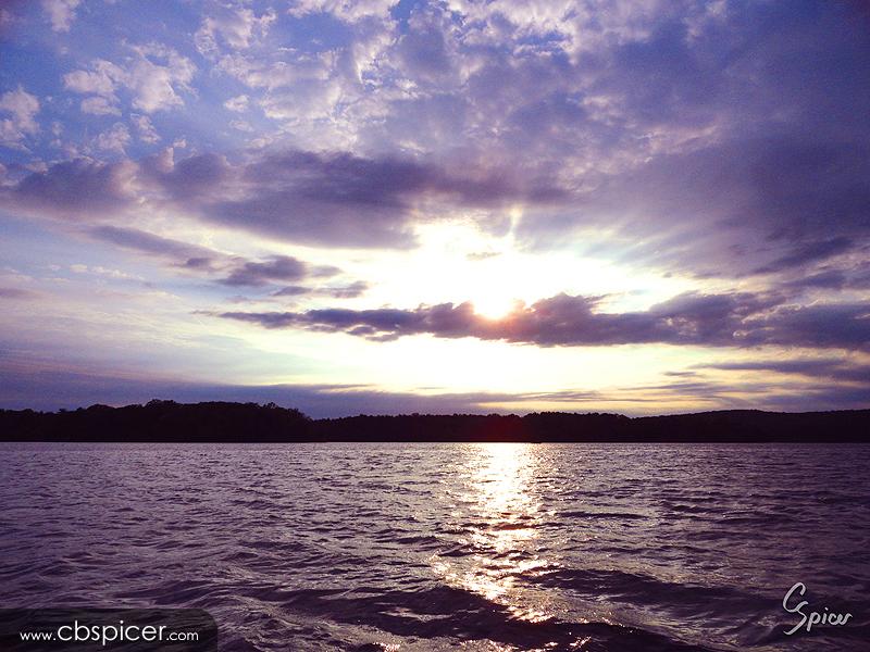 Loch Raven Sunrise by cbspicer