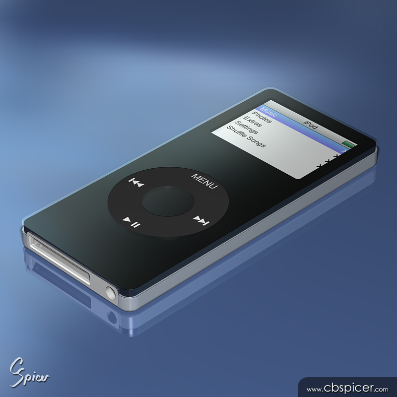 iPod Music Player by cbspicer