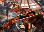 Jurassic Park: T. rex Rescue Scene