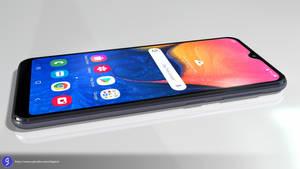 Samsung Galaxy A10e - 3D Model - Render 8