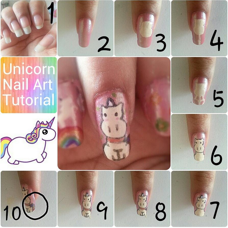 Unicorn Nail Art Pictorial By Dyeritsojazzy On Deviantart