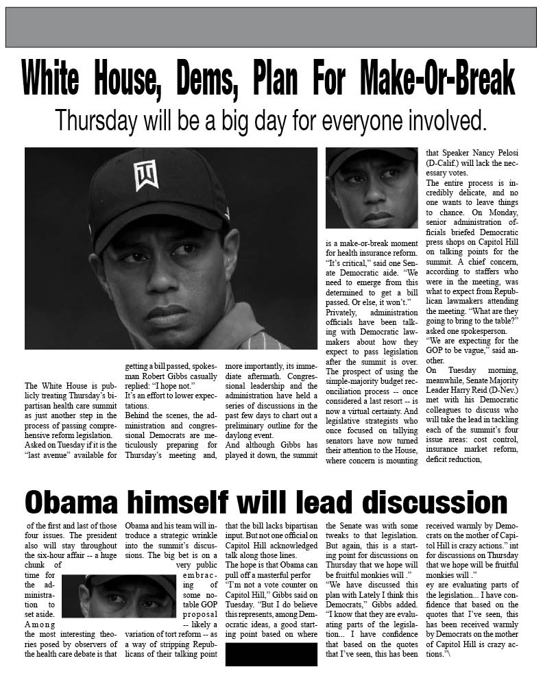 black and white newspaper template - Ecza.solinf.co