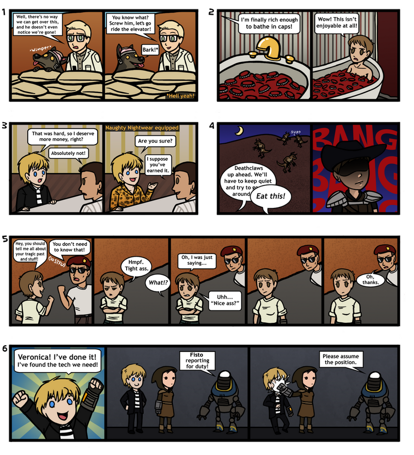 New vegas comic collection by doomed dreamer on deviantart new vegas comic collection by doomed dreamer voltagebd Choice Image