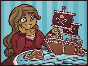 Gemini's Gingerbread Ship