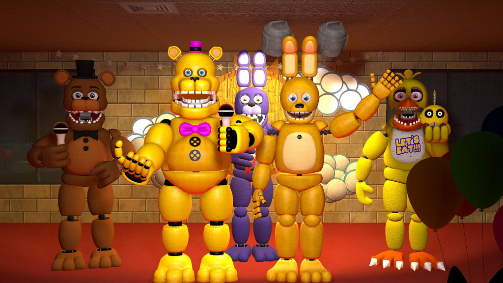 Fredbear And Friends By G Freddy87 On Deviantart