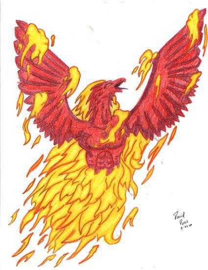 Rising Phoenix Tattoo by ~ddavis1979 on deviantART
