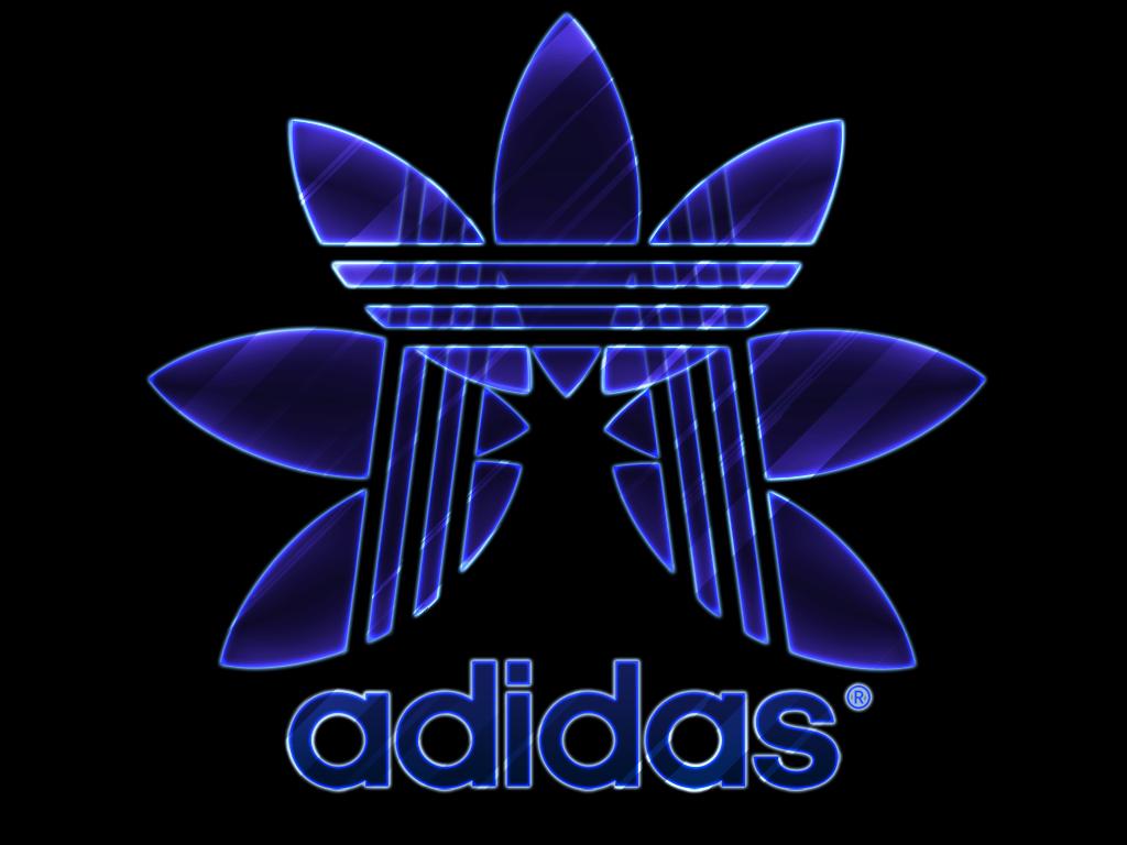 blue adidas logo wallpaper wwwimgkidcom the image