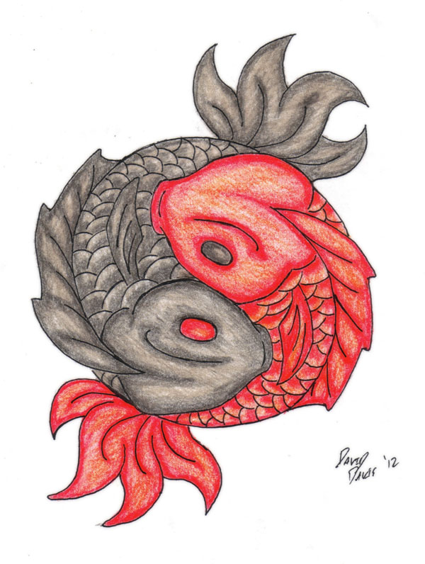 Koi ying yang tattoo by ddavis1979 on deviantart for Koi yin yang