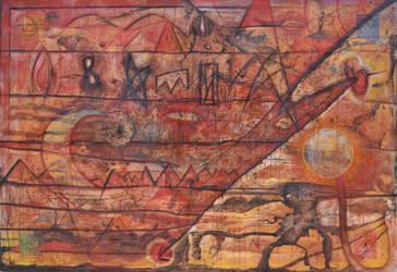 Exorcism through symbols by D-KRIP