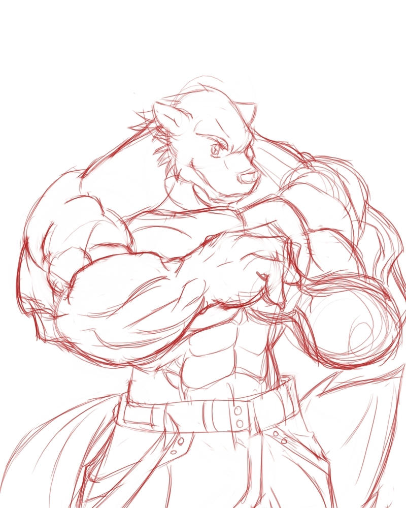 beowulf sketch by Raikenji