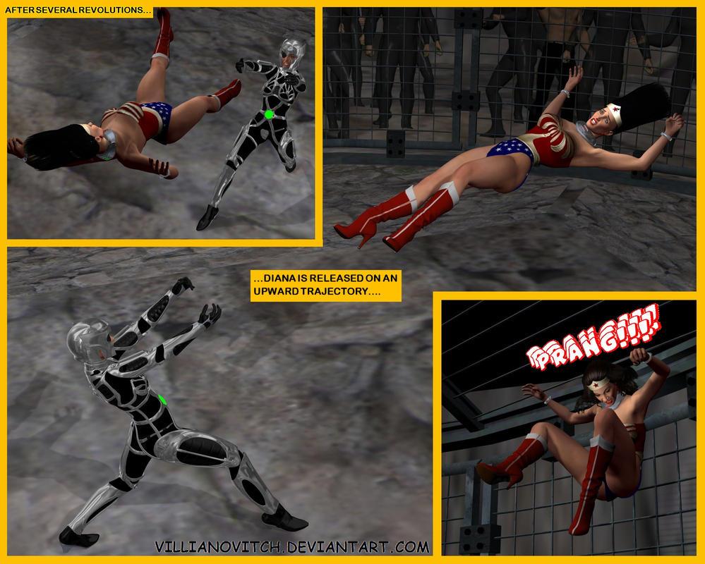 Wonder Woman Defeated Deviantart Britannia 45 by richvilliano
