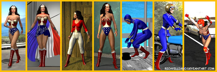 7 Copied Costumes by RichVolare
