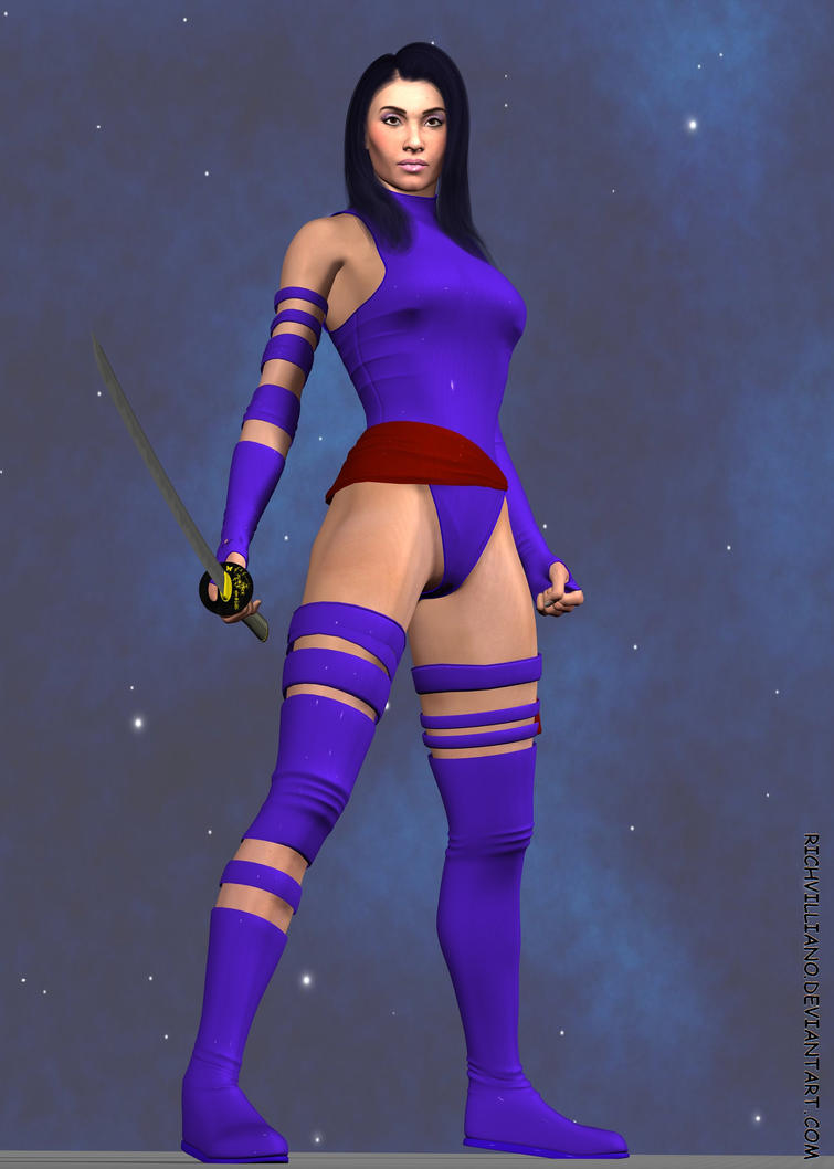 Psylocke by RichVilliano