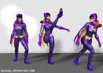 Posing Batgirl 67