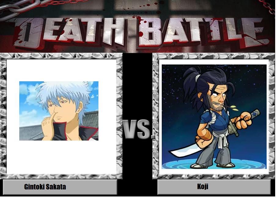 Gintoki Sakata vs. Koji by YDKJGuy-Towers