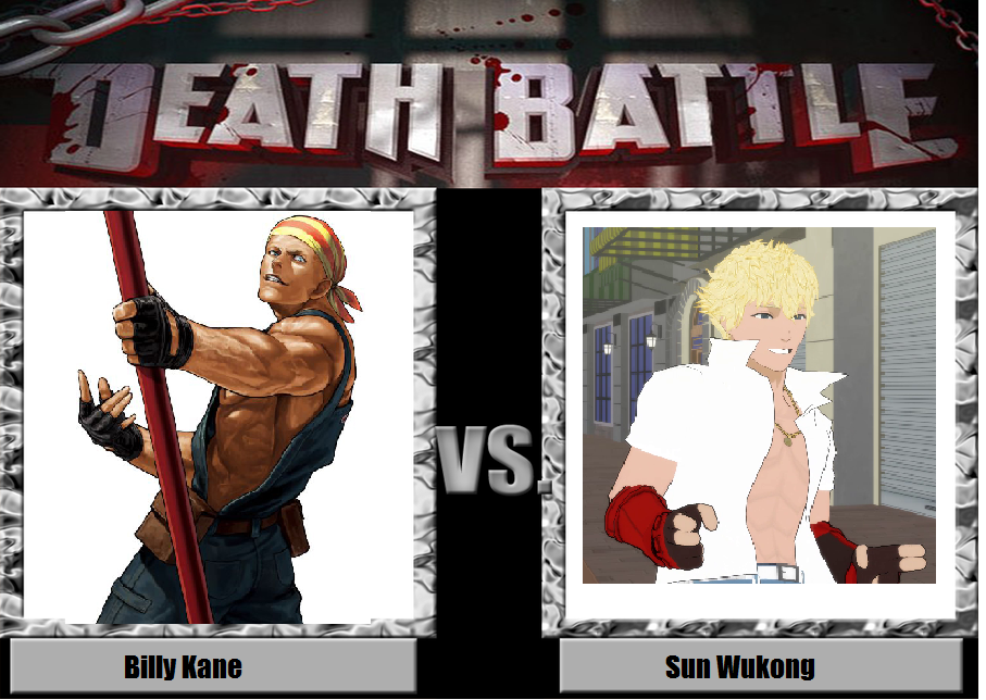 Billy Kane vs. Sun Wukong by YDKJGuy-Towers