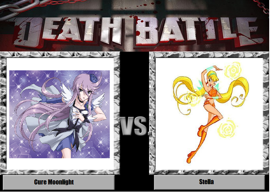 Cure Moonlight vs. Stella by YDKJGuy-Towers
