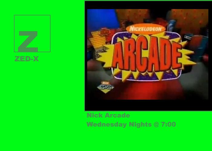 Zed-X TV - Nick Arcade by YDKJGuy-Towers