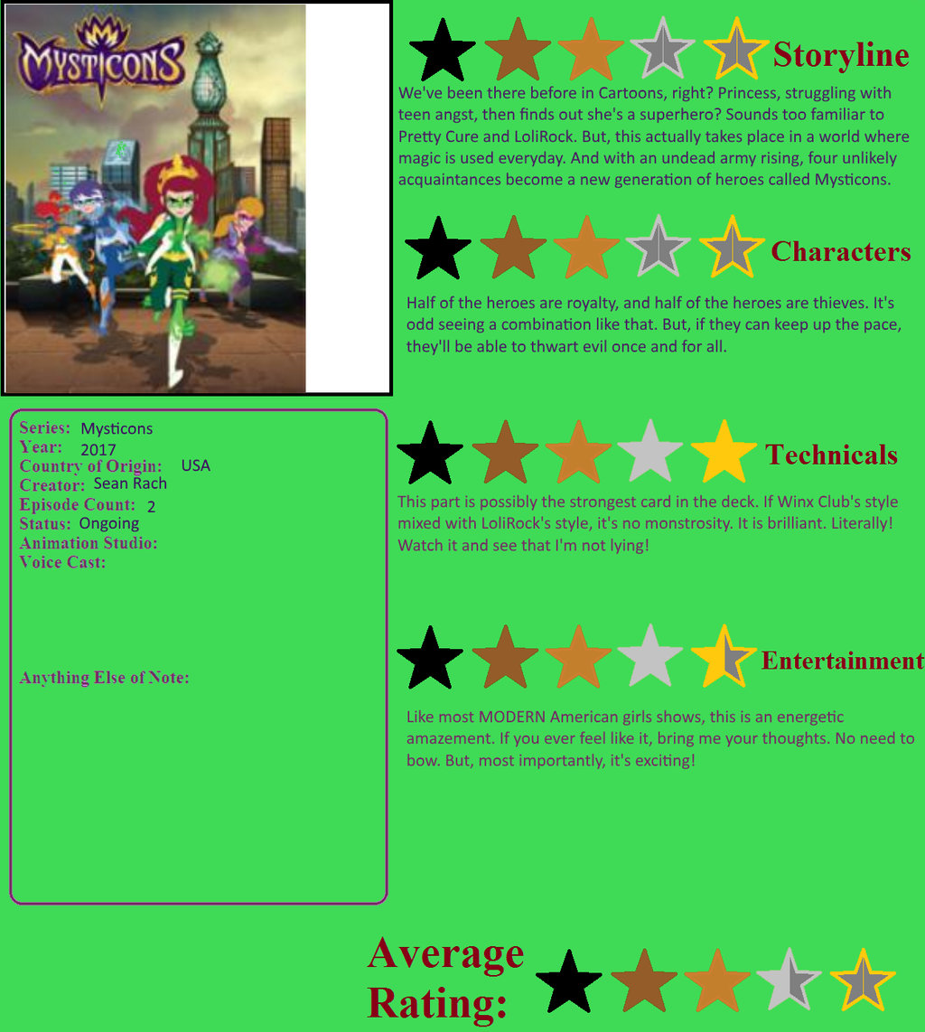 My Thoughts On Mysticons By YDKJGuy-Towers On DeviantArt