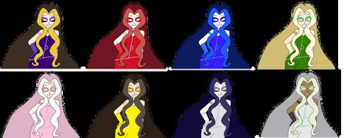 WCXTB - Darcy Colors 1-8
