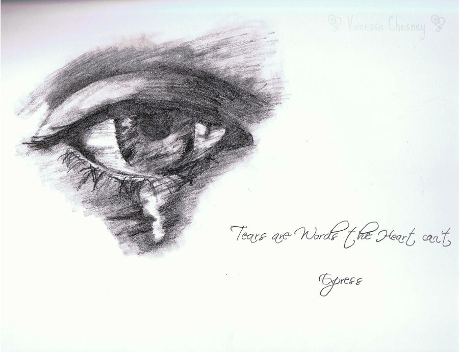 Crying Eye by georgina14 on DeviantArt
