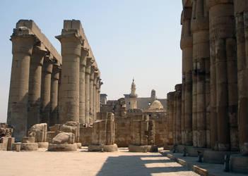Egyptian Temple I by OwletStock