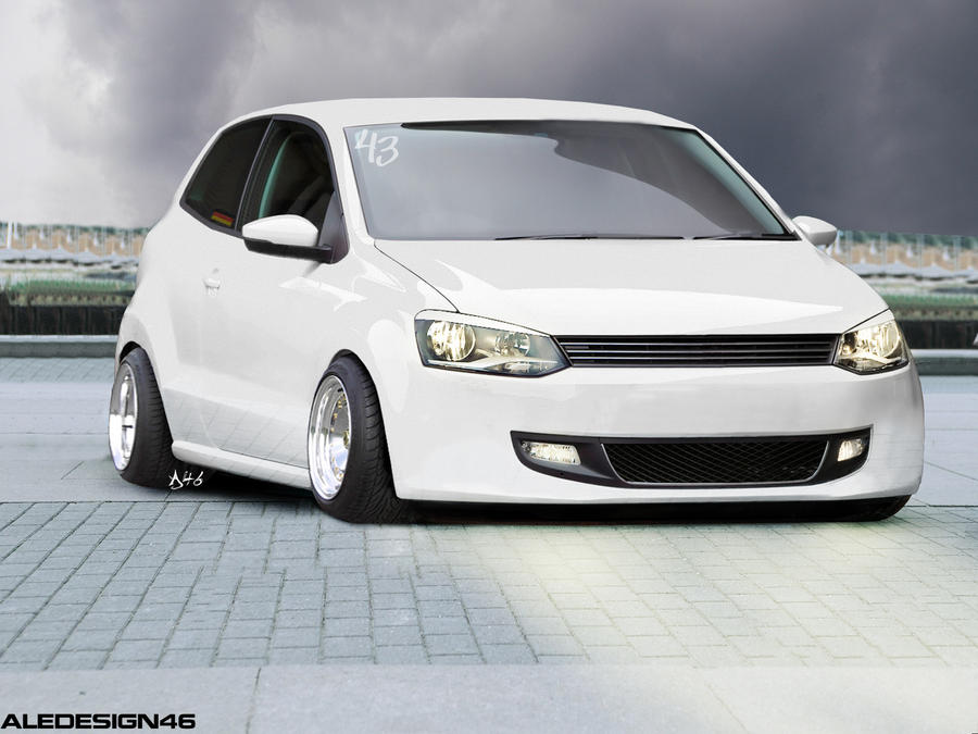 Vw Polo German Style By Aletuning46 On Deviantart