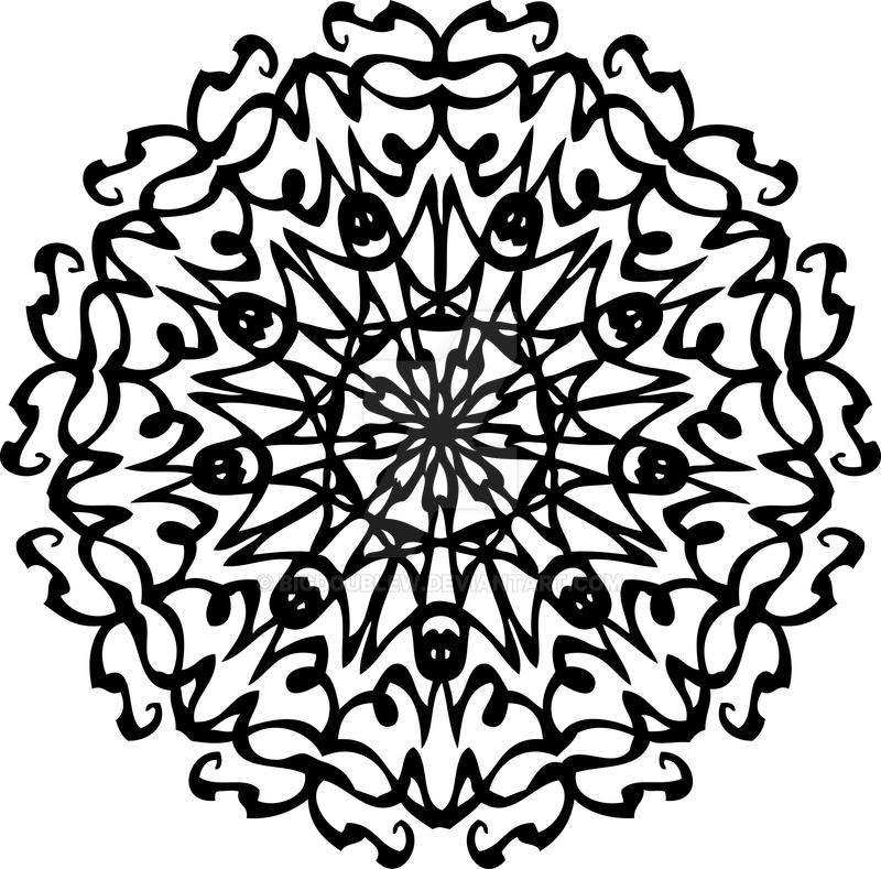 Radial Tattoo Design by BigDoubleW