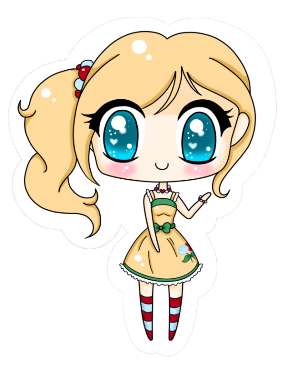 Crystal Rose Chibi by Minessa
