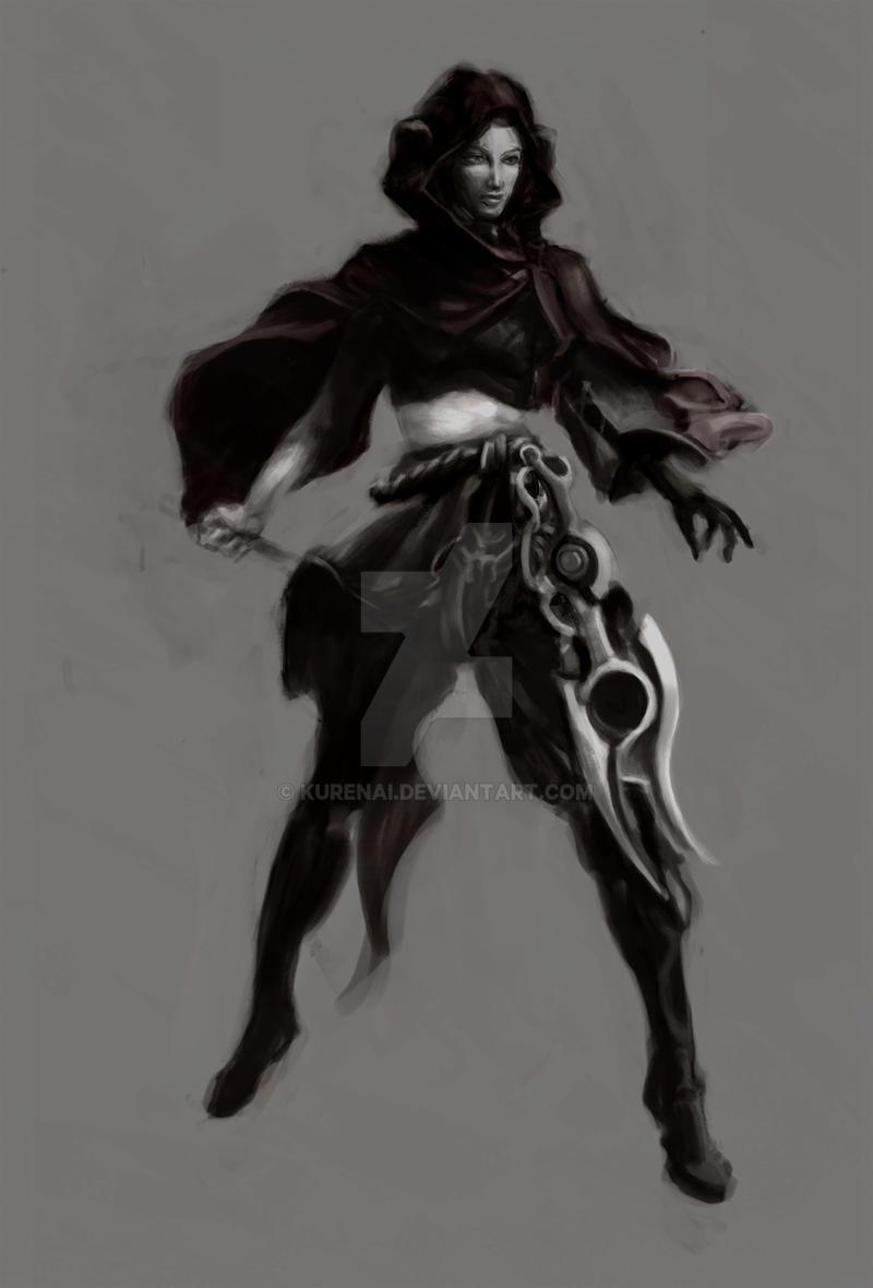 Concept Art For A Desert Warrior By Kurenai On Deviantart