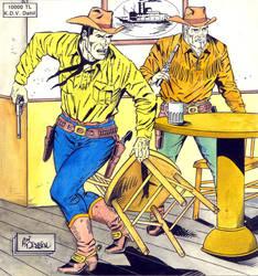 Tex Cover 7 - Galaksi Yayinci. by aliduzgun